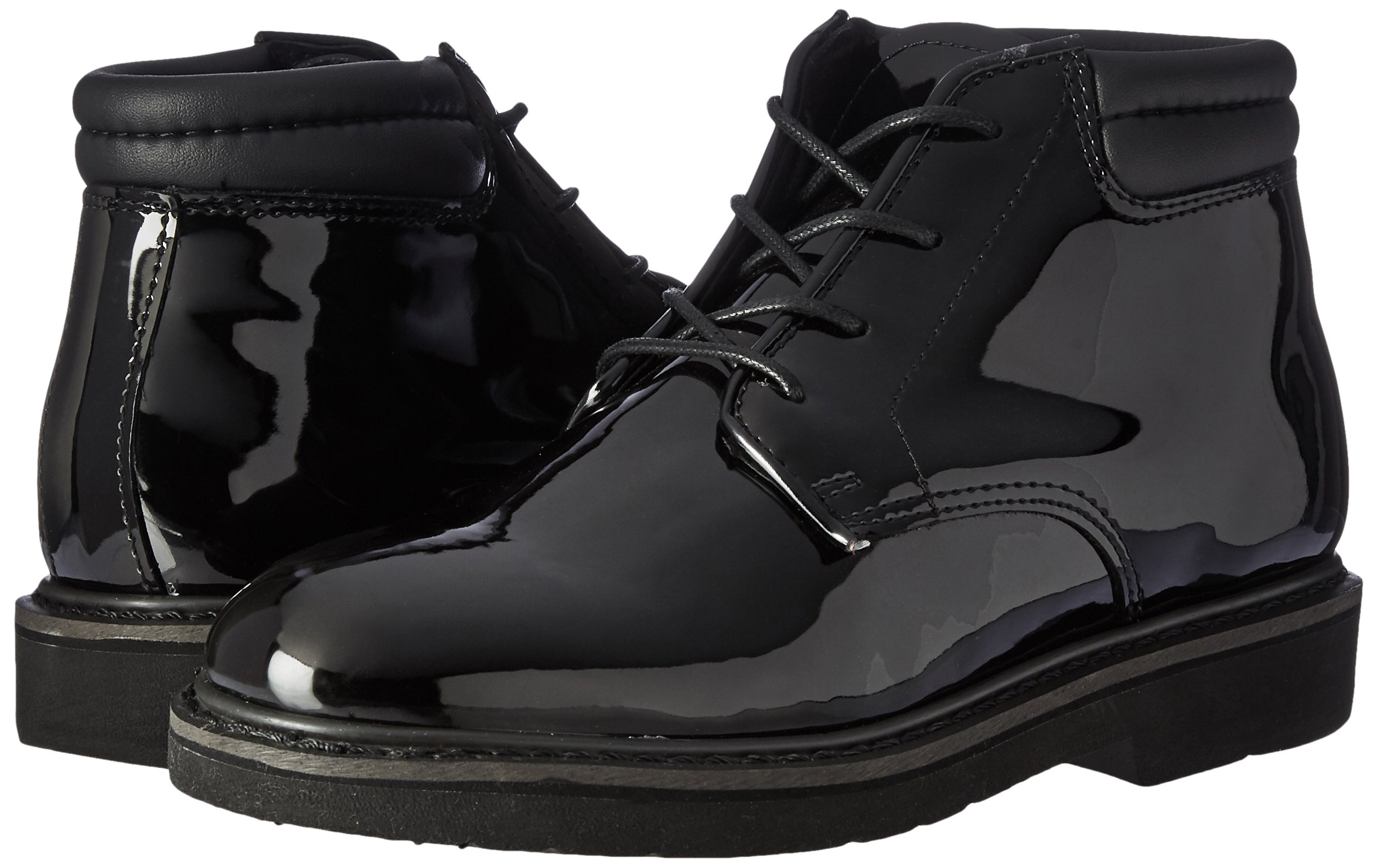 Rocky Men's 6 Inch Professional Dress 500-8 Work Boot,Black,10 XW US by Rocky (Image #6)