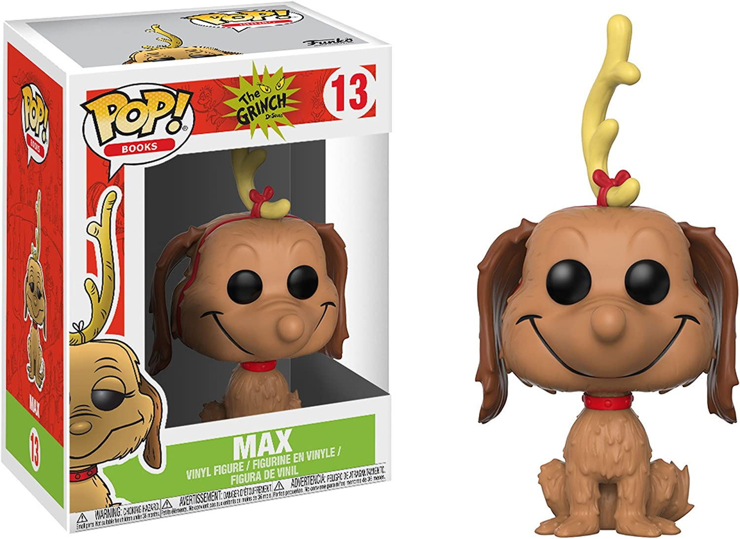 Funko POP Movies Bundle The Young Grinch #662 Max the Dog #660 Vinyl Figures