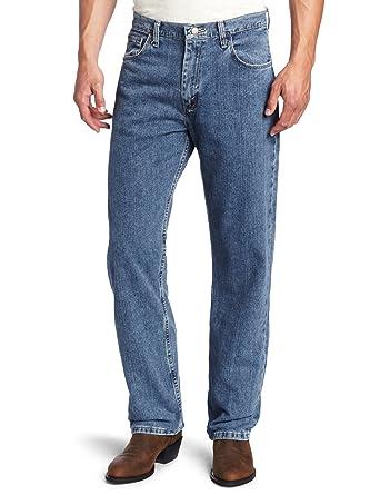 e8accd5d Wrangler Men's Genuine Loose Fit Jean at Amazon Men's Clothing store: