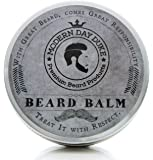 Modern Day Duke Beard Balm, XL 60ml - Leave in beard Conditioner, containing Cocoa Butter, Shea Butter, Sweet Almond Oil, Ceadarwood and Lime - Premium Beard Balm for Beards, Mustaches, & Goatees, the Best for Thicker Fuller Healthy Beard Growth, Tame your Facial Hair