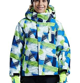 Amazon.com: phibee Big Boy – Chaqueta de esquí para mujer ...