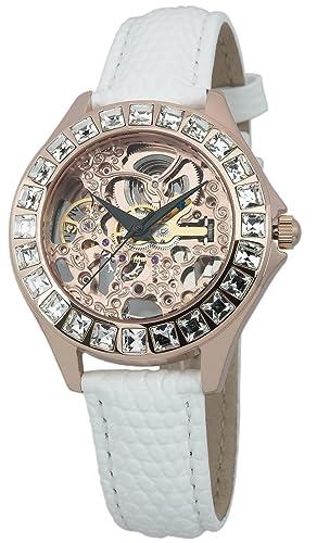 Und Mit Für Analog Burgmeister Lederarmband Damen Uhr Armbanduhr Wasserdichte AnzeigeAutomatik ZeitlosemSchickem Damenuhr Design srCdQBhxto