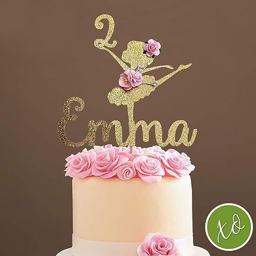 amazon com ballerina cake topper, ballerina centerpieces, ballerina