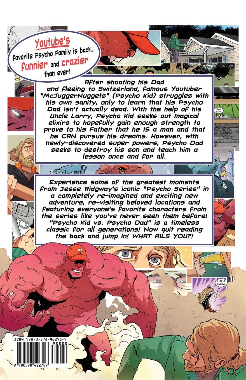9d9dc4e9b Psycho Kid vs. Psycho Dad: Jesse Ridgway: 9780578422787: Amazon.com: Books