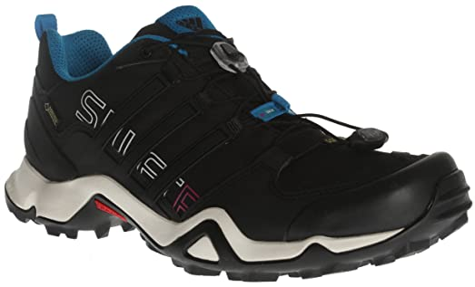 Adidas Women's Terrex Swift R Gtx W Black/Hero Blue Hiking Shoes - 10 B
