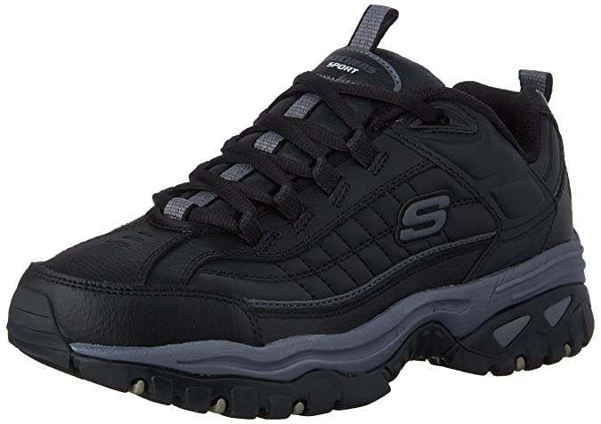 Skechers Herren Energy After Burn schwarzgrau 49 EU M TsgFh