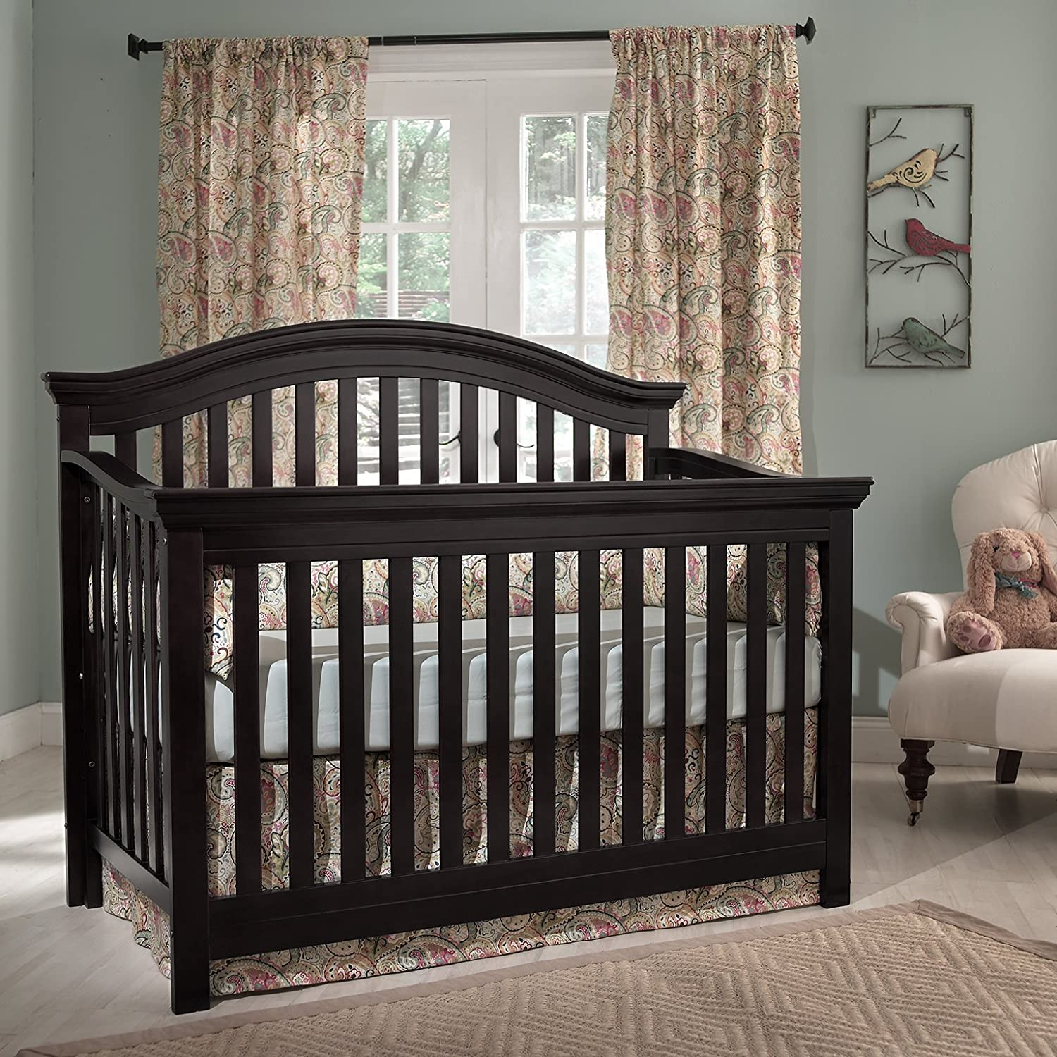 find more i espresso mattress crib for included convertible shermag