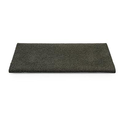 "Camco 42907 Gray Premium Wrap Around RV Step Rug (100% Polyester (17.5"" x 18"")): Automotive"