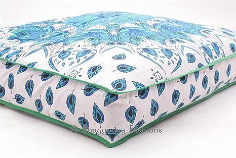 Indian almohada, funda de cojín (cuadrado, grande almohada ...