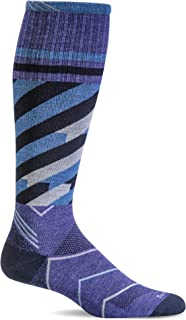 product image for Sockwell Women's Cyclone 15-20mmHg Compression Sport Socks (Hyacinth, S/M)