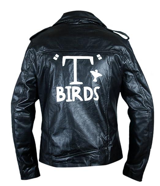 F&H Mens Grease T Birds Danny Zuko John Travolta Jacket ...