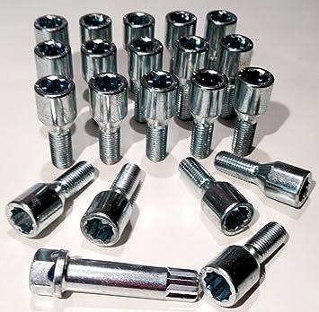 Pernos de aleación para rueda, ajuste fino, M12 x 1,5