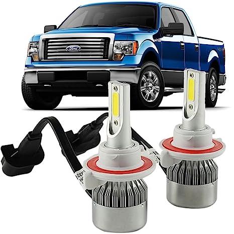 Amazon com: H13 LED Headlight Bulbs Kit for Ford F150 2004-2014 High