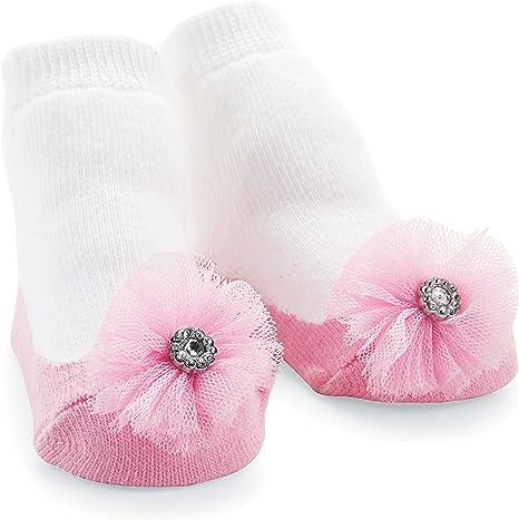 Set of 3 Mud Pie Baby Perfectly Princess Flower Socks