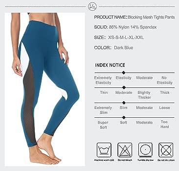 QUEENIEKE Pantalones de Yoga de Las Mujeres Pantalones para Cadera del Melocotón Entrenamiento de Mallas Estampadas