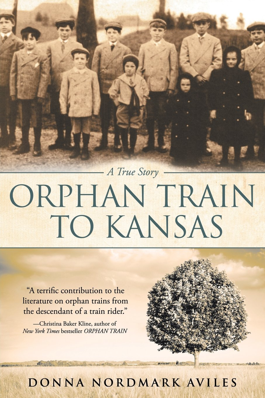 Orphan Train to Kansas