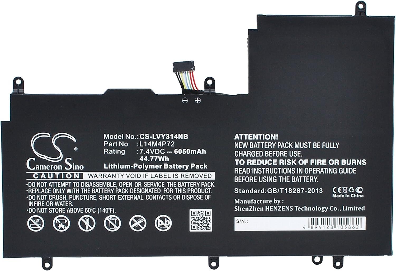 6050mAh Battery for Lenovo Yoga 3 14