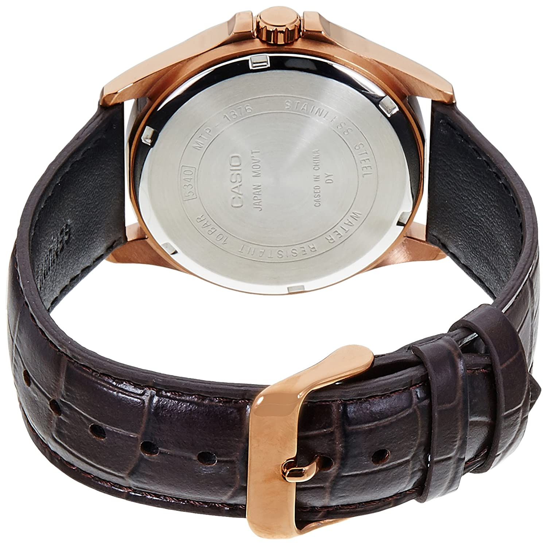 Amazon.com: mtp-1376rl-7bvdf Casio Reloj de pulsera: Watches