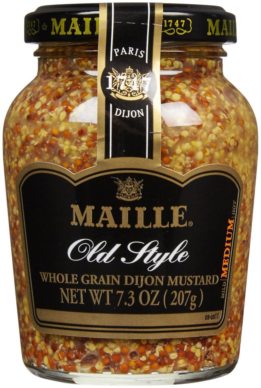 Maille Old Style Grain Dijon Mustard, 7.3 oz