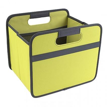banjado – Meori® 15L – Caja multiusos plegable para Ikea Kallax verde Estantería de almacenaje
