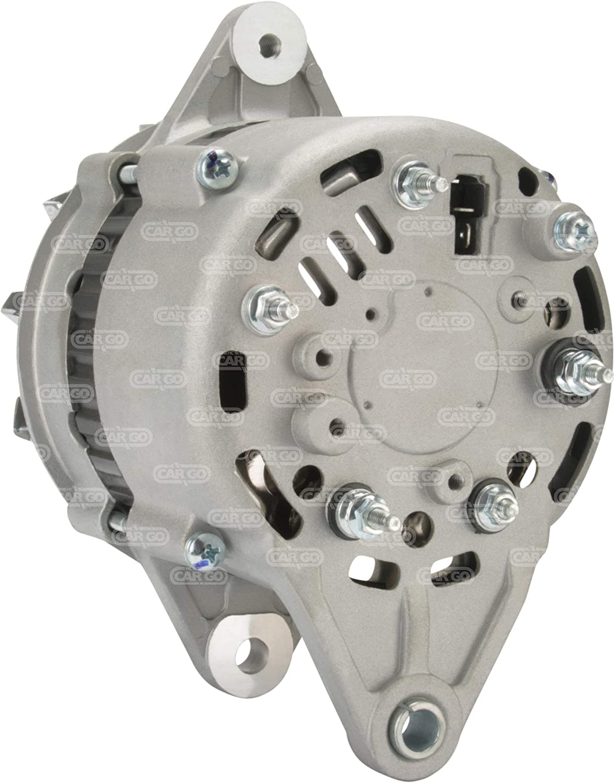 Alternador HC-CARGO 113793 Yanmar Marine 4JMTE 4JH2E 2GM 3GM 4JH 4LH 55 Amp retorno aislado