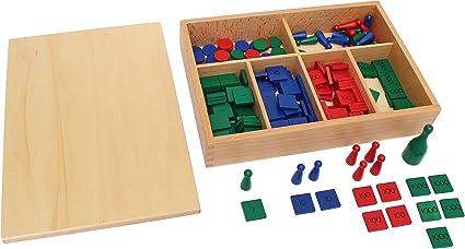 PinkMontessori Education Stamp Game Mathematics