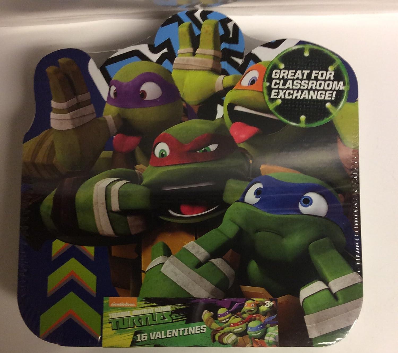 Amazon.com: Teenage Mutant Ninja Turtles Valentines Cards ...