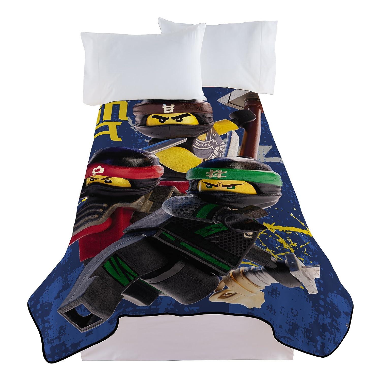 Lego Ninjago Extreme Warriors Blanket Franco Manufacturing A4512C