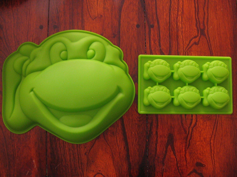 Awesome Amazon Com Teenage Mutant Ninja Turtles Silicone Cake Mold Personalised Birthday Cards Petedlily Jamesorg