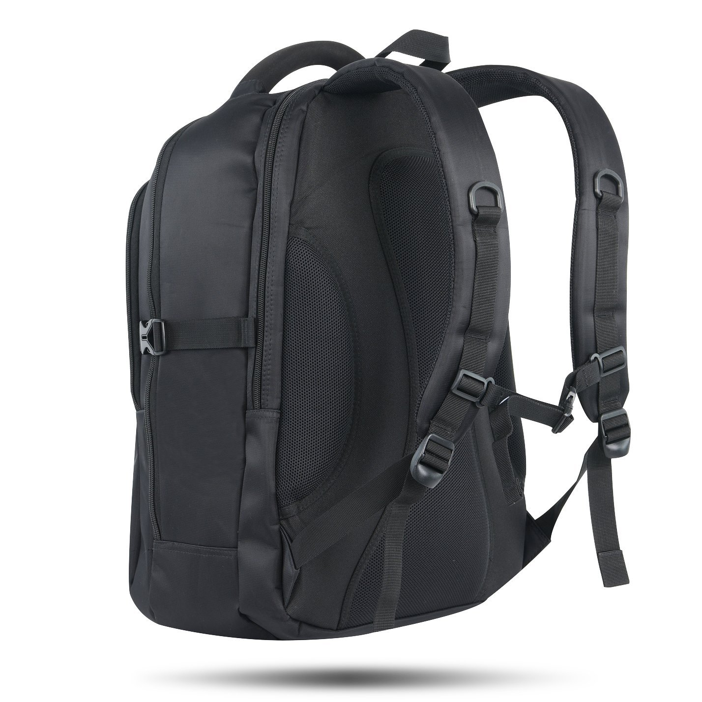 3335399e47 JOTHIN B725 Travel Business Laptop Backpack for Men Extra Large Rugged 17  inch Notebook Computer (Black)  Amazon.co.uk  Sports   Outdoors