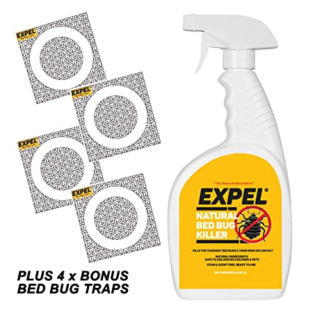 Amazon Com Expel Best Natural Bed Bug Killer Spray 4 Bonus Glue