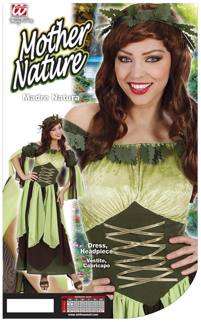 WIDMANN WID73712 - Costume per Adulti Madre Natura 063a4ea47268