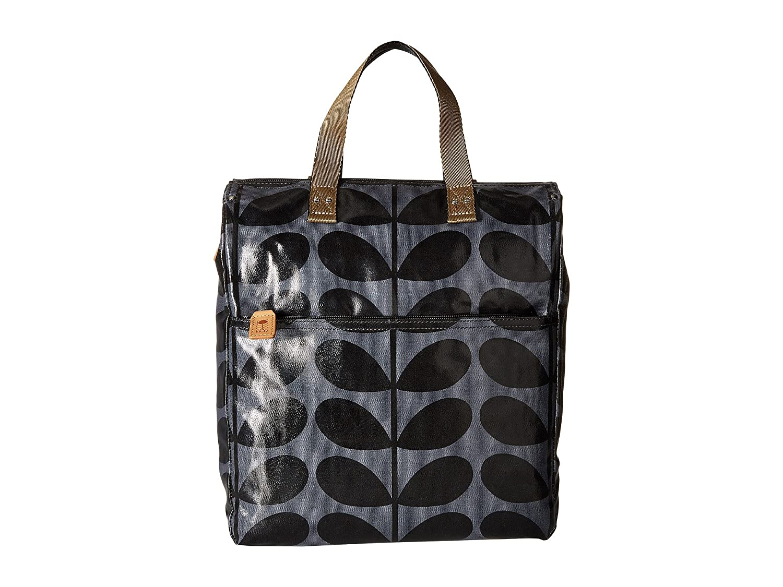 [オーラ カイリー] Orla Kiely レディース Shiny Laminated Solid Stem Print Backpack バックパック [並行輸入品] B01N77UAFP Midnight