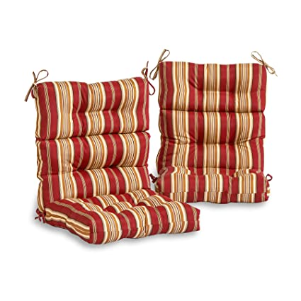 Amazon.com: South Pine Porch AM6809S2-ROMASTRIPE Roma ...