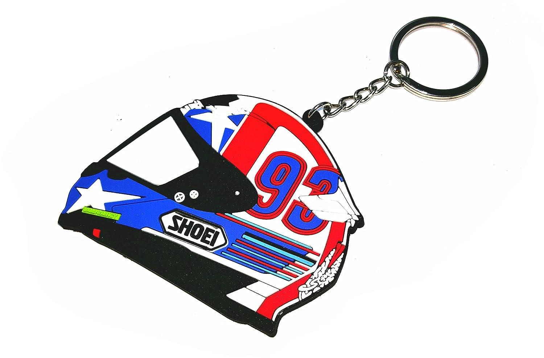 Marc Márquez llavero casco USA oficial numero 93, MotoGP ...