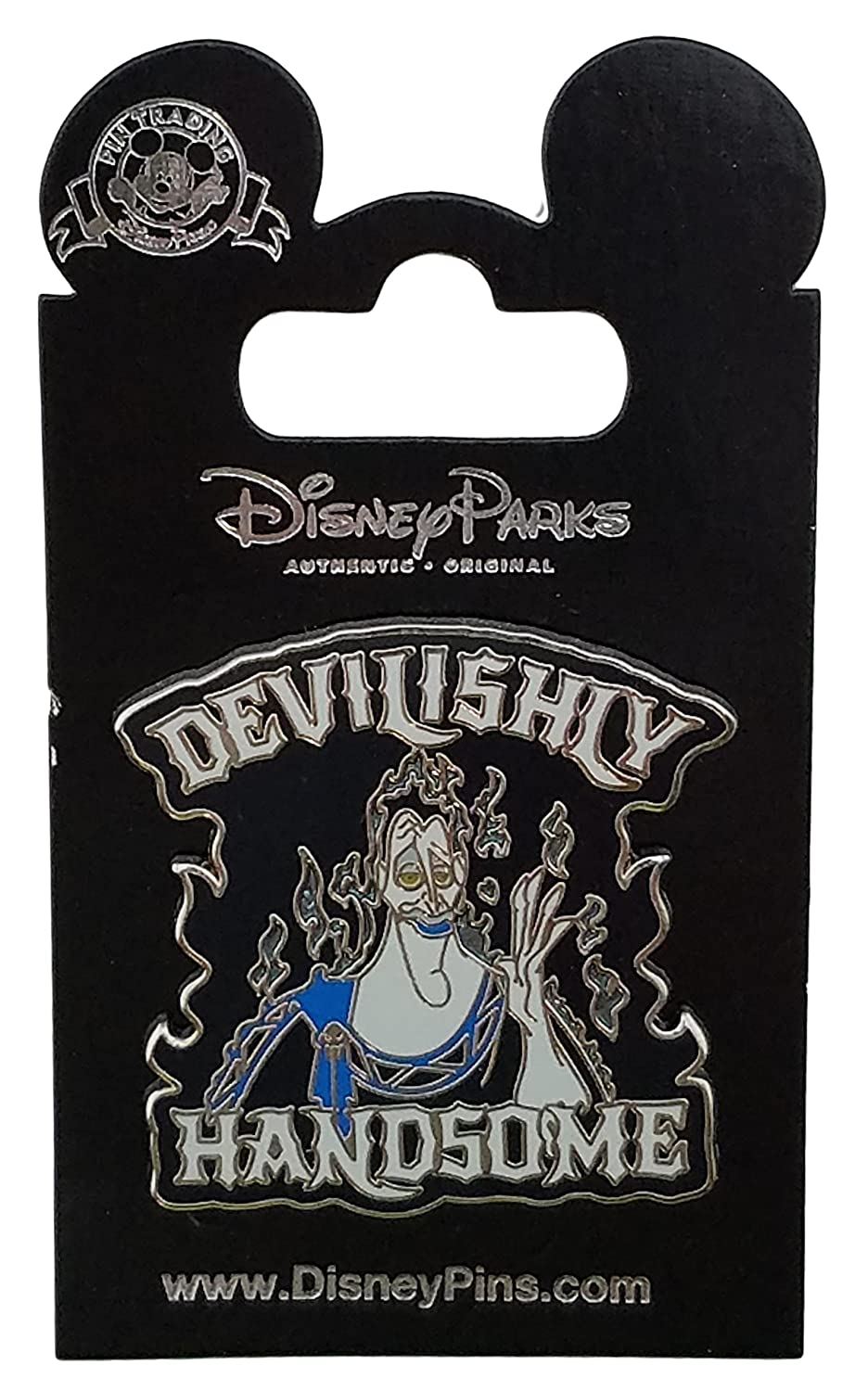 Disney Pin - Hercules - Hades - Devilishly Handsome