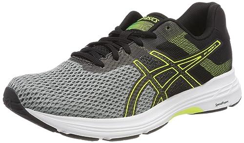 Asics Gel-Phoenix 9, Zapatillas de Running para Hombre, (Stone Greyblacksafety Yellow), 40.5 EU: Amazon.es: Zapatos y complementos