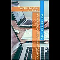 Advanced Internet Investigation: Osint for the online investigator (English Edition)