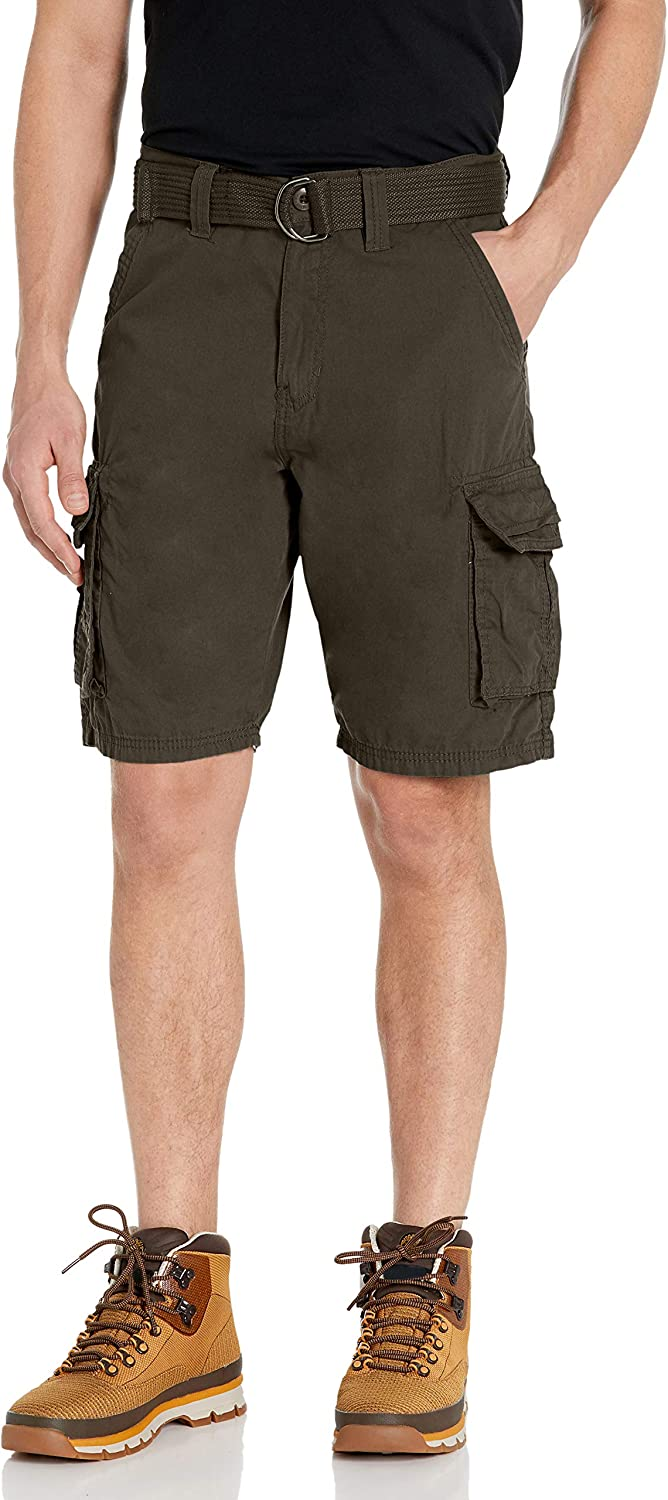 Southpole Men's  Mini Canvas  Cargo Shorts