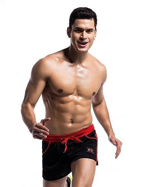 5e7ec5590ec Amazon.com  iYunyi Men s Gym Shorts