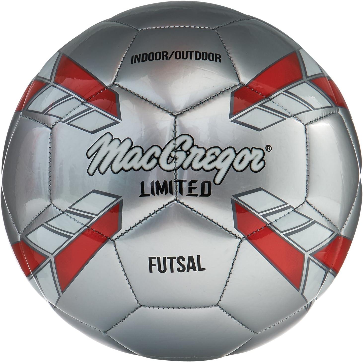 Heavy Duty Size 4 Standard PVC Soccer Ball Indoor Outdoor Training Football