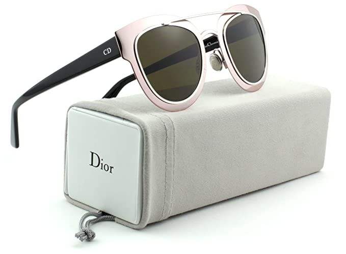 7c4a5e7a12928 Image Unavailable. Image not available for. Color  Christian Dior Chromic S  Pink Black Frame  Brown ...