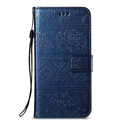 Felfy Wallet Carcasa Compatible con Huawei Honor 7X Funda ...