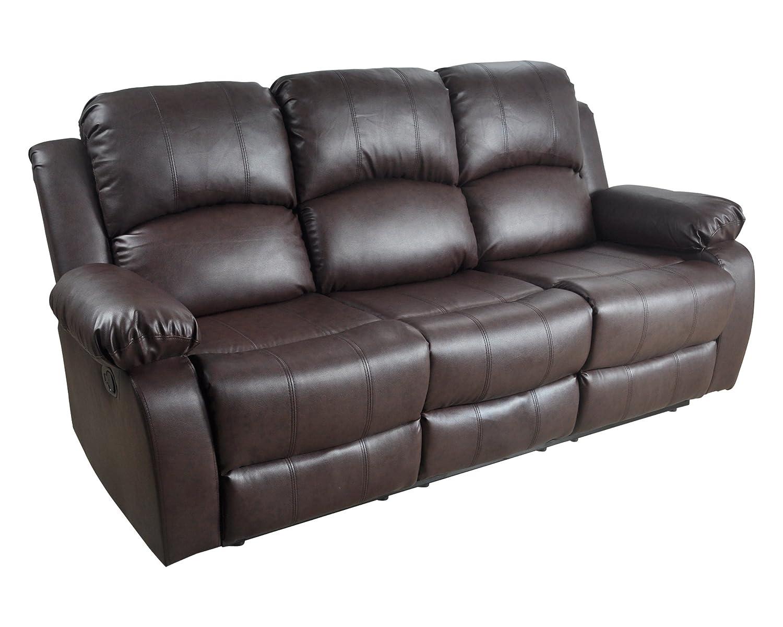 Peachy Amazon Com Lifestyle Furniture Utica Reclining Sofa Dark Creativecarmelina Interior Chair Design Creativecarmelinacom
