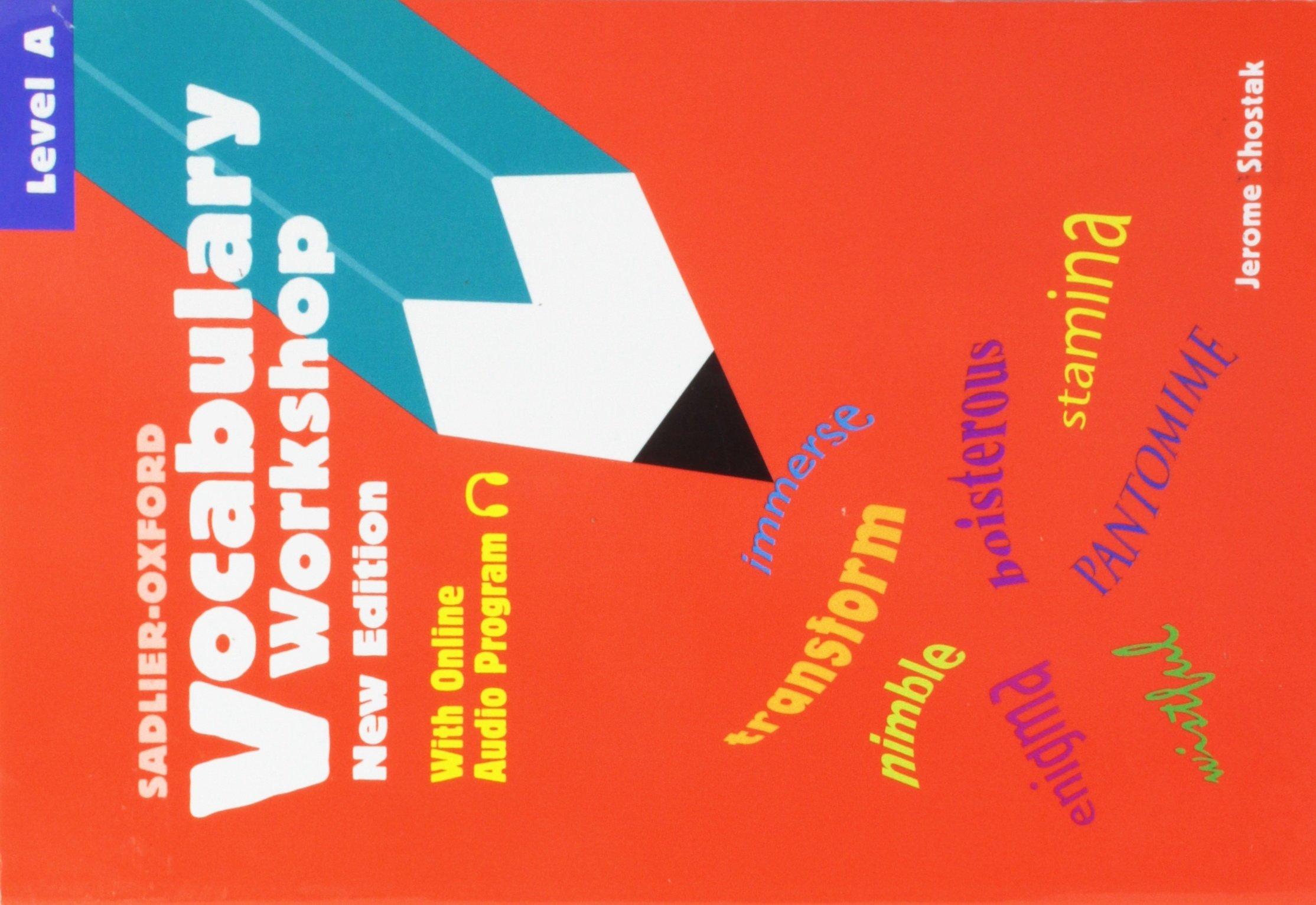 Sadlier-Oxford Vocabulary Workshop: Level A - New Edition
