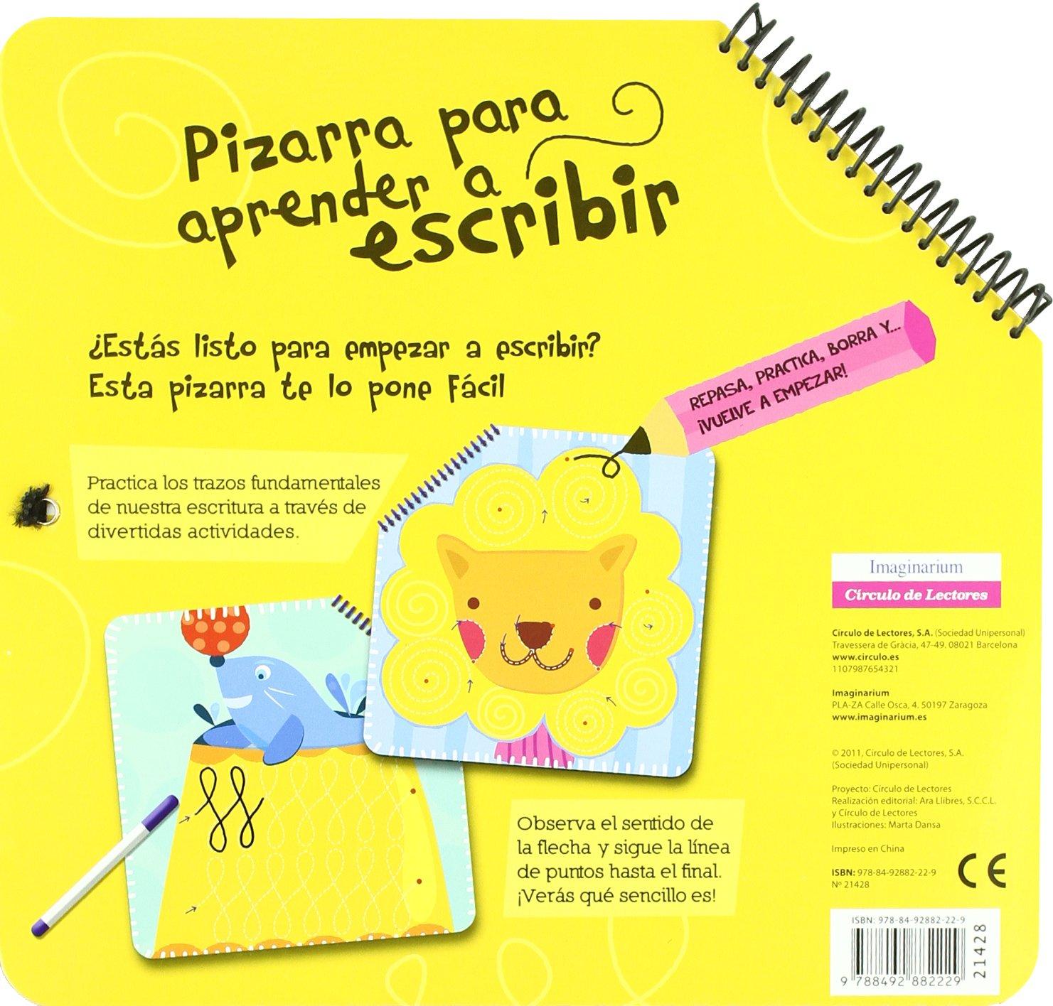 Pizarra para aprender a escribir: EQUIPO EDITORIAL CIRCULO ...