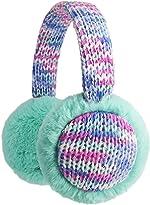 Flammi Kids Knit Earmuffs Winter Outdoor Furry Ear Warmers for Boys