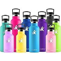 KollyKolla Botella de Agua Acero Inoxidable - 350/500/600/750ml/1L, Termo Sin BPA Ecológica Reutilizable, Botella…