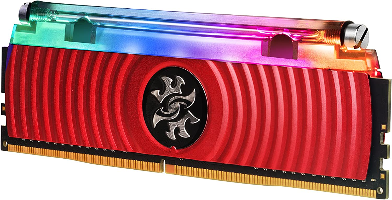 XPG Spectrix D80 Liquid-Cooled RGB DDR4 3600MHz 16GB (2x8GB) 288-Pin PC4-28800 Desktop U-DIMM Memory Retail Kit (AX4U360038G17-DR80)