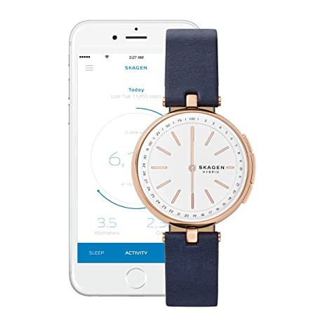 Amazon.com: Skagen Connected - Reloj inteligente híbrido de ...